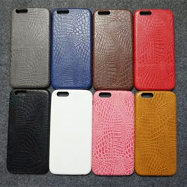 2016 Hot! Fashion Luxury Crocodile Snake Print PU Leather Case Back Cover For iphone 7 7Plus/5 5s/6 6s/6Plus 6sPlus Phone cases