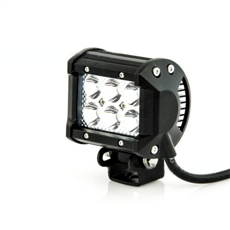 4 inch 18W Cree LED Work Light Bar Lamp for Motorcycle Tractor Boat Off Road 4WD 4x4 Truck SUV ATV Spot Flood 12v 24v