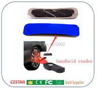 Uhf rfid 타이어 패치 태그 프로그래밍 가능한 uhf rfid 태그 수동 타이어 gen2 태그 고무 자동차 타이어 관리 자동차 인벤토리