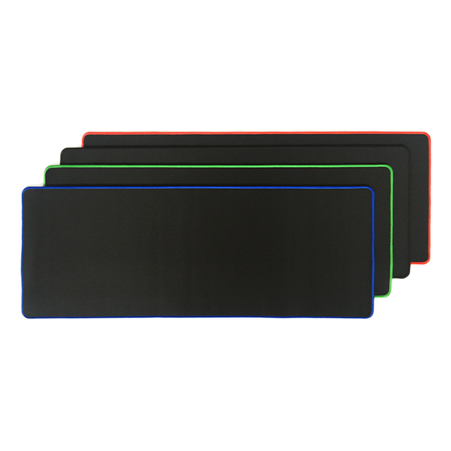 Pure Black Large Gaming Mouse Pad 5