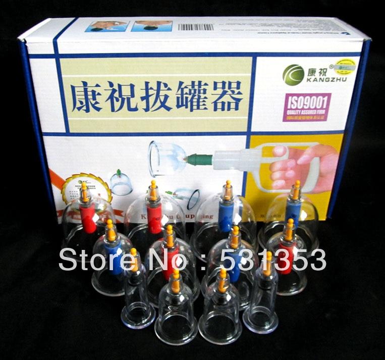 Genuine jumbo Beijing Kang Zhu enhanced B- 12 tank vacuum cupping acupuncture массажер kang zhu kangzhu acuxiliiary tcm b 024