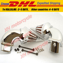 motorcycle parts Spike Air Cleaner Filter for Suzuki all year   Boulevard M109 CHROME