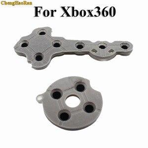 Image 4 - ChengHaoRan 100 set tampons en caoutchouc silicone conducteur pour Xbox360 contrôleur sans fil pour Xbox 360 bouton de Contact d pad réparation