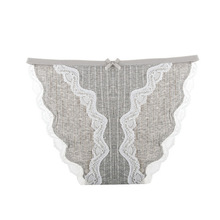 Sexy Women Panties Ultra Thin Lady Lace Crochet Underwear Cotton Low-Rise Briefs Breathable Lace Edge Female Underpants dewvkv sexy lace cotton ladies underwear panties for women low rise breathable briefsfancy ultra thin golden ruffled solid jk