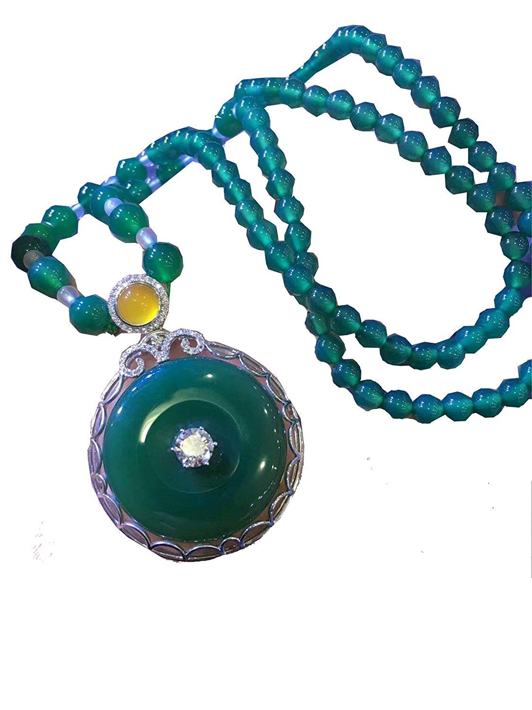 Koraba Fine Jewelry Natural Green Jade Peace Button Pendant 925 Silver Leopard Head Necklace Free Shipping цена и фото