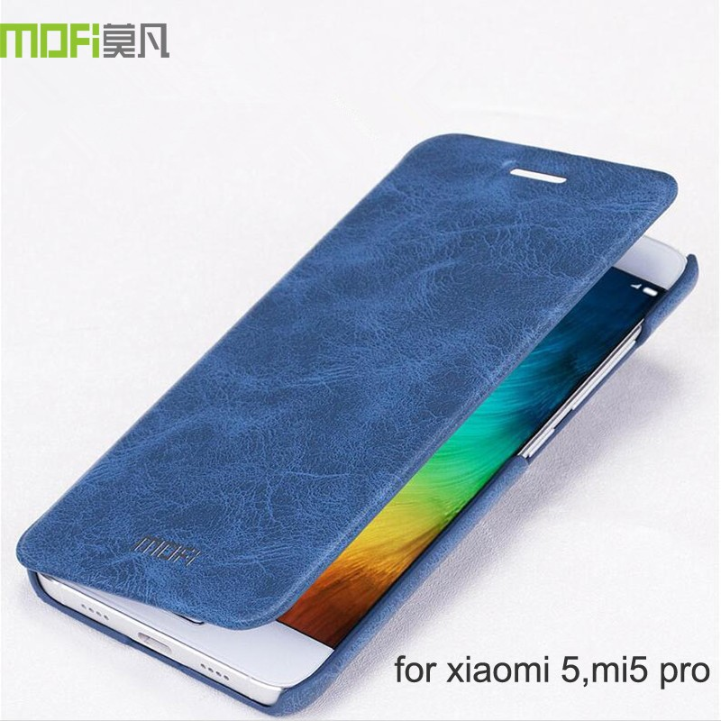 Xiaomi-mi5-case-MOFi-original-mi5-pro-back-cover-leather-flip-case-silicon-Xiomi-mi5-case (2)