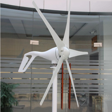 38299130d2c 100 w 200 w 300 w 400 w Mini Gerador de Turbina Eólica DC 12 v 24 v Ímã  Permanente Gerador de Energia Eólica