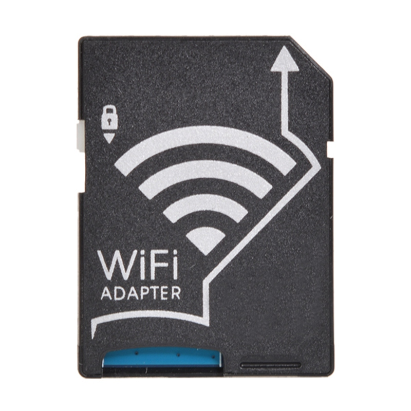 Micro SD / TF Card To SD Card WiFi Adapter MicroSD TF Converter Wireless for Apple for IOS and Android Phones Computers Laptop