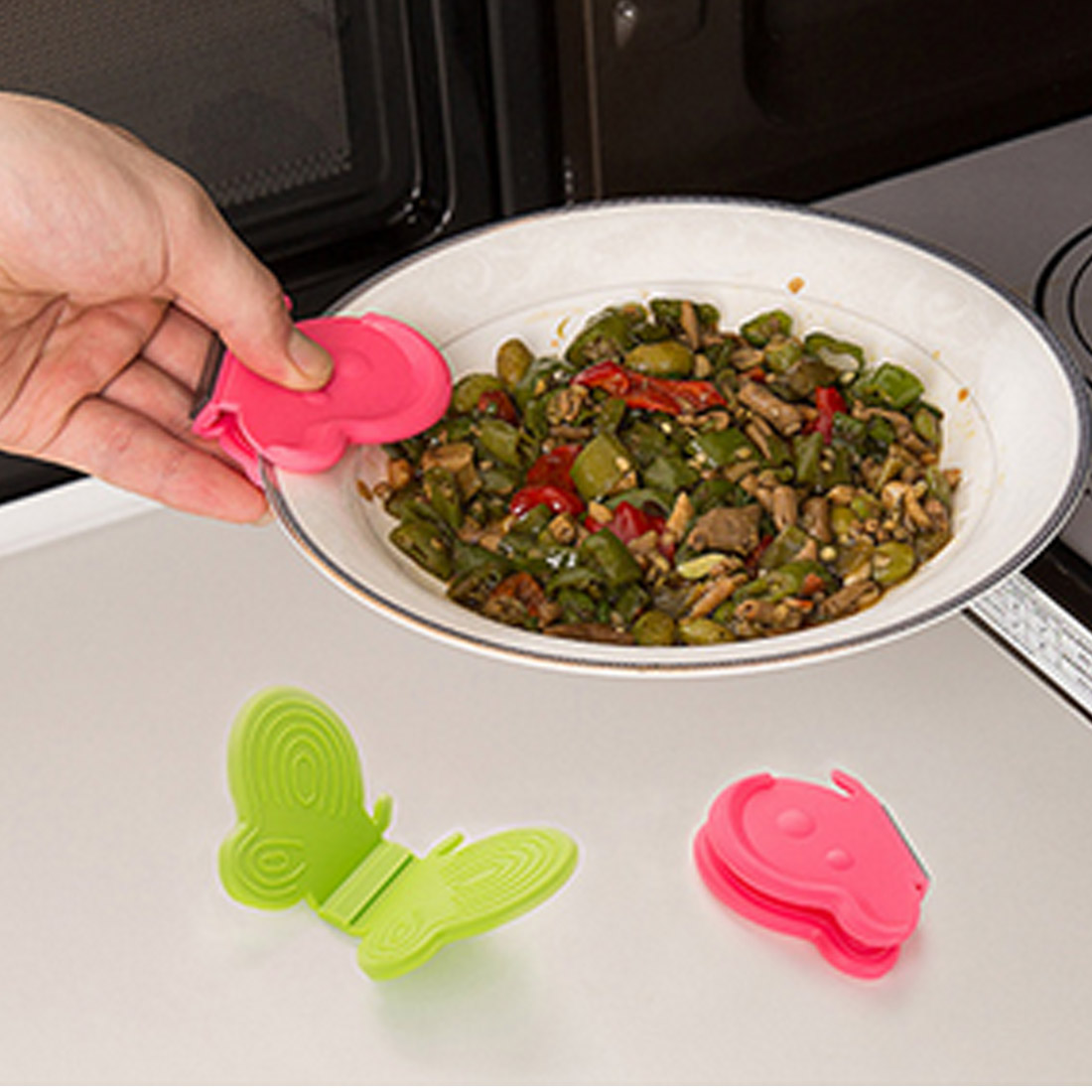 silicone thumb kitchen