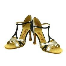 YOVE w125 1 Dance Shoe Leather Women s Latin Salsa Dance Shoes 3 5 Flare High