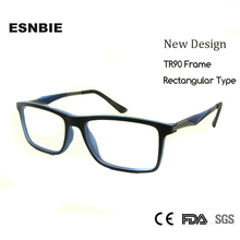 SKY&SEA OPTICAL High Quality TR90 Frame Glasses Men Myopia Glass Nerd Sports Spectacle Clear