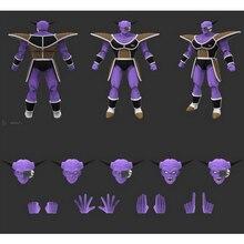 Tronzo Dragon Ball Z S.H.Figuarts SHF Ginew Freeza Yellow Purple Soldier Demoniaca Fit PVC Action Figure Genuine Original