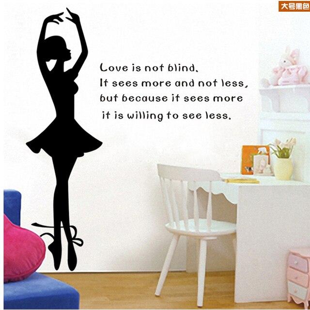 aliexpress.com : acquista ragazza della parete della camera da ... - Decorare Le Pareti Della Camera Da Letto