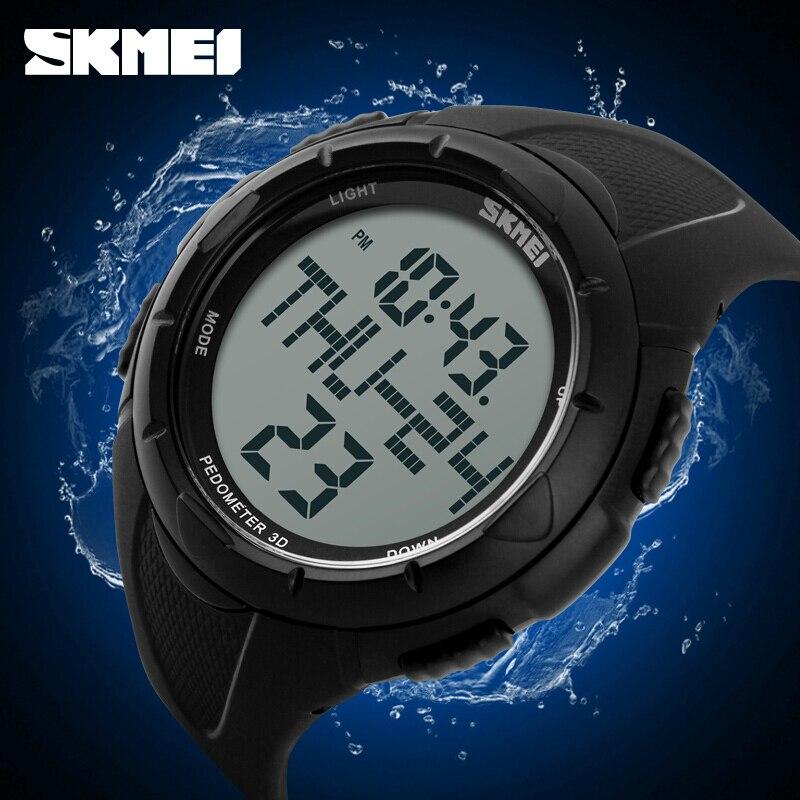Outdoor Watches Military Pedometer Alarm-Clock Chronograph SKMEI Digital 1122 Sport Calories