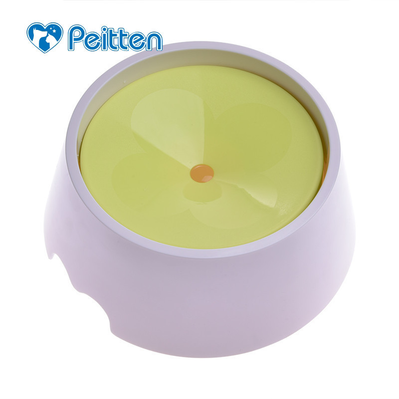 21.5*9cm Upgraded Pet Safe Splash-proof Drinking Bowl Dog Cat Garfield Bulldogs Preventing Wetting Mouth Pets Dual-use Bowls