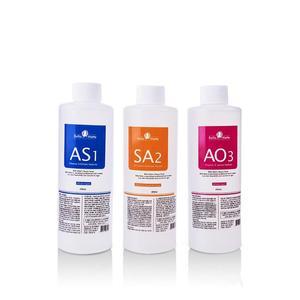Image 5 - أكوا تقشير السائل الأكسجين ماكينة تجميل الوجه جوهر AS1 AO3 SA2 حلول مصل 400 مللي للزجاجة