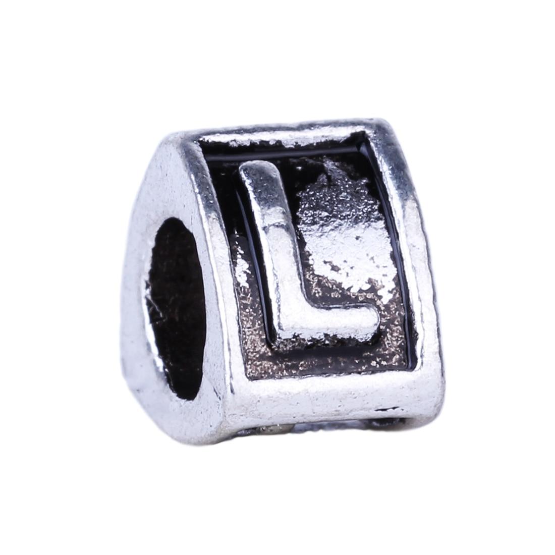 ba4c7f6e1 Pandora Bracelet Charms beads 925 Silver charms letter L LE012L