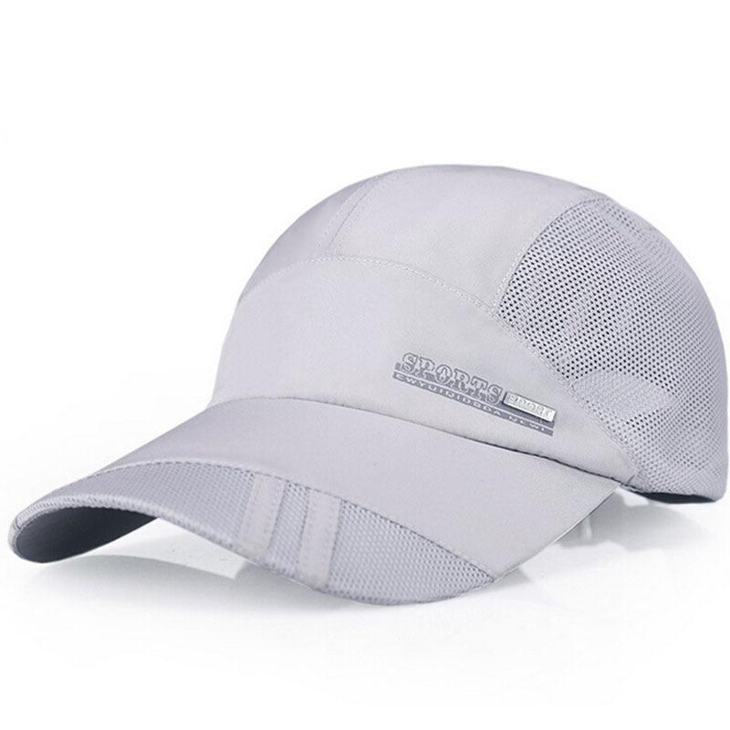 Nové letní pánské prodyšné síťované čepice Baseballové - Příslušenství pro oděvy - Fotografie 4