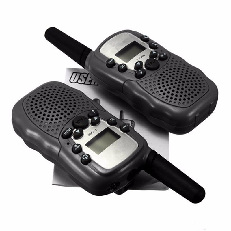 Universal Portable Multi Channel 2 Way T 388 Dual Adjustable LCD 5KM UHF Car Auto VOX