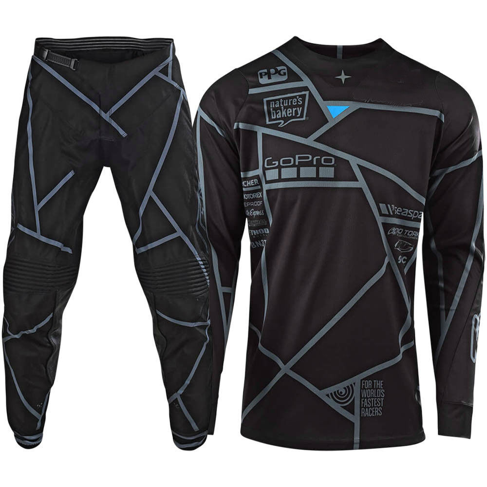 2018 Troy Lee Designs TLD YOUTH GP Air Maze Pants Turquoise//Navy MX ATV Moto