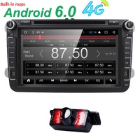 8 Inch Android 5 1 Car Stereo Radio For Vw Passat Golf Quad Core 8 Inch