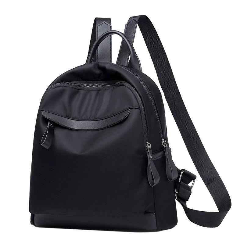 THINKTHENDO Small Nylon Backpack Purse for Women Girls Fashion Daypack Waterproof