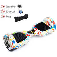 Electric Skateboard Gyroscooter Hoverboard 6.5 Inch Bluetooth Speaker Electrico Scooter Hoverboard Two Wheel Balance Scooter