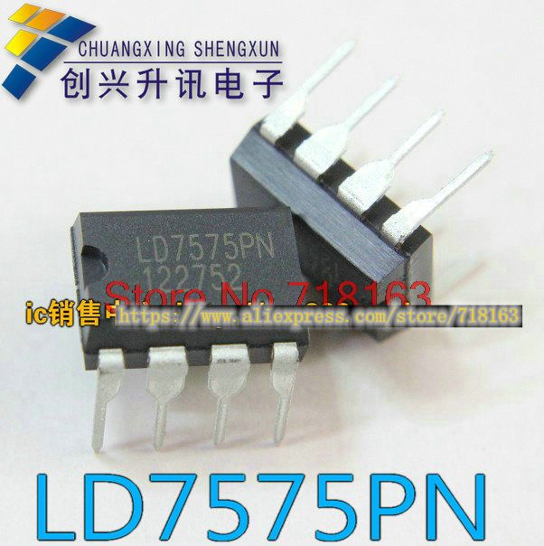 1 adet/grup LD7575PN LD7575 7575 DIP-81 adet/grup LD7575PN LD7575 7575 DIP-8