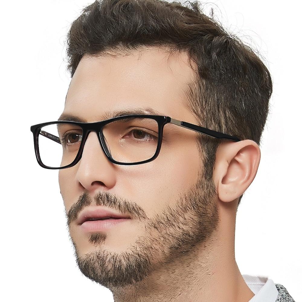 Alta Qualidade Retro Acetato Óptica da Prescrição Médica Olho Quadros Homens  Feitas À Mão Óculos de Armação Quadro Masculino preto OCCI CHIARI W-CANO c1b528e8a2