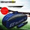 100 Genuine Original Brand Raquete Tenis Backup New Back Pack Tennis Bag 6 Pieces Of Equipment