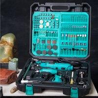 Doppel Elektrische Mühle Sets Jade/Bienenwachs Carving Maschine Holzbearbeitung Polierer Elektrische Grinder FL0930