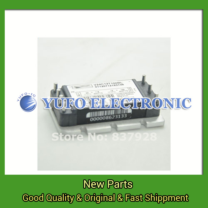 Free Shipping 1PCS  V24C12T100BL Power Modules original spot Special supply Welcome to order directly photographed YF0617 relay free shipping 1pcs mcc200 14io1 power modules original spot special supply welcome to order directly photographed yf0617 relay