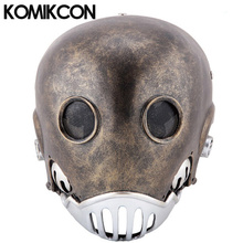 Hellboy Kroenen Clockwork Man Resin Masks Men Women Cosplay Full Face Head Helmet Halloween Party Props Masquerade For Adults hellboy mask breathable full face mask kroenen helmet halloween cosplay horror helmet karl ruprecht kroenen halloween props w153