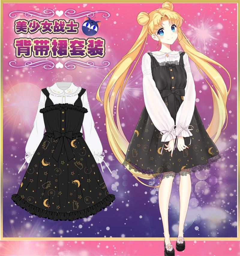 72053dc68f4c Summer Lolita dress Female Soft sister Vintage Darkness Girl Slim ...