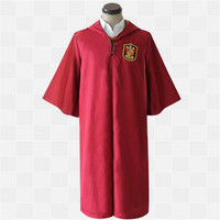 High Quality Harry Potter Robe Gryffindor Cosplay Costume Halloween Cosplay Cloak CS00070