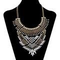 2017 Declaración de Moda Maxi Collar de la Mujer Joyería Crystal Étnico Gitano Femme Collier Colar Collar Bohemio de La Vendimia