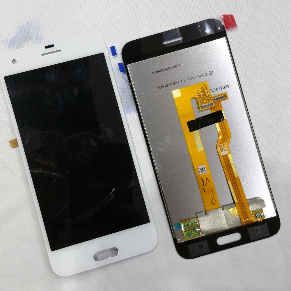 For HTC A9S LCD Display With Touch Screen Digitizer Assembly Original Replacement Parts BLACK/ replacement original touch screen lcd display assembly framefor huawei ascend p7 freeshipping