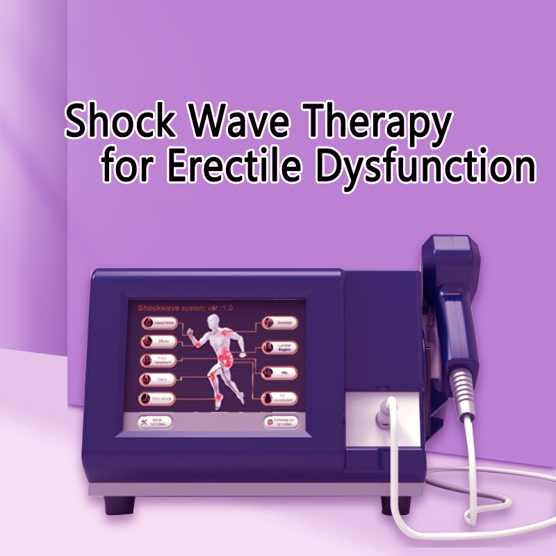 6 Bar Shockwave Extracorporeal Shock Wave Therapy Pneumatic Shockwave Therapy For Shoulder Pain Treatment ED Treatment Shockwave