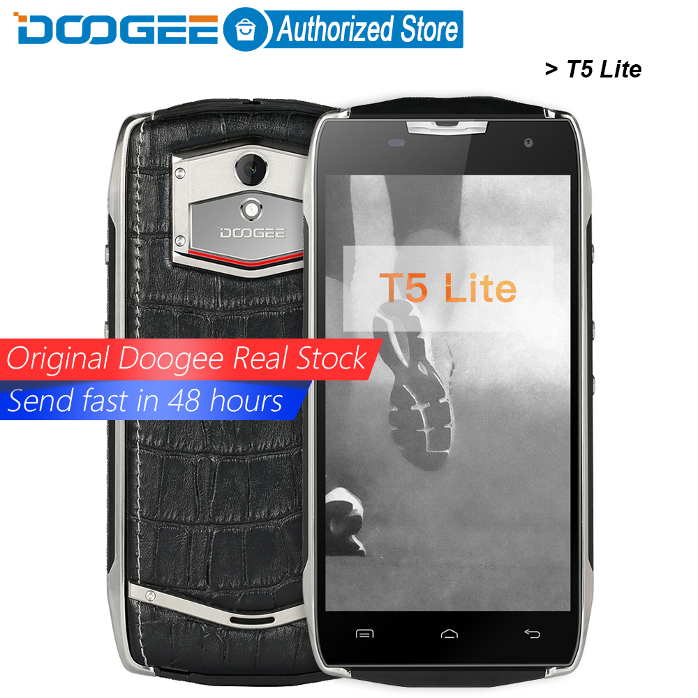 Doogee T5 lite mobile phones IP67 Waterproof 5 0Inch HD 2GB RAM 16GB ROM Android 6