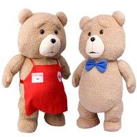 Ted2 Cartoon Movie Teddy Bear TED Plush Toys Soft Stuffed Animal Dolls Classic Toy 46CM 18'' Kids Gift