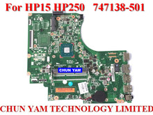 Wholesale laptop motherboard 747138-501 for HP 15 250 747138-001 Notebook PC Mainboard systemboard 100% Tested 90 Days Warranty
