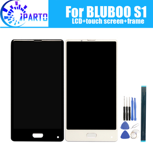 Image 1 - 5.5 inch BLUBOO S1 LCD Display+Touch Screen Digitizer +Frame Assembly 100% Original LCD+Touch Digitizer for BLUBOO S1