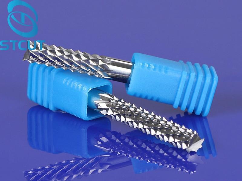 1 stück 6/8mm Gute Qualtiy Wolfram Stahl Hartmetall-schaftfräser Gravur mais Zähne Bits CNC PCB Frässtifte Fräser Bohrer Bit