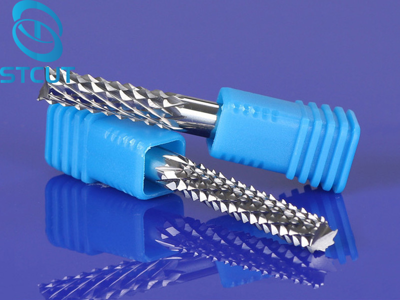 1pc 6/8mm Good Qualtiy Tungsten Steel Carbide End Mill Engraving Corn Teeth Bits CNC PCB Rotary Burrs Milling Cutter Drill Bit