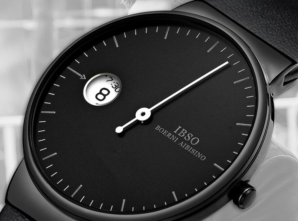 um ponteiro design criativo dos homens relógios