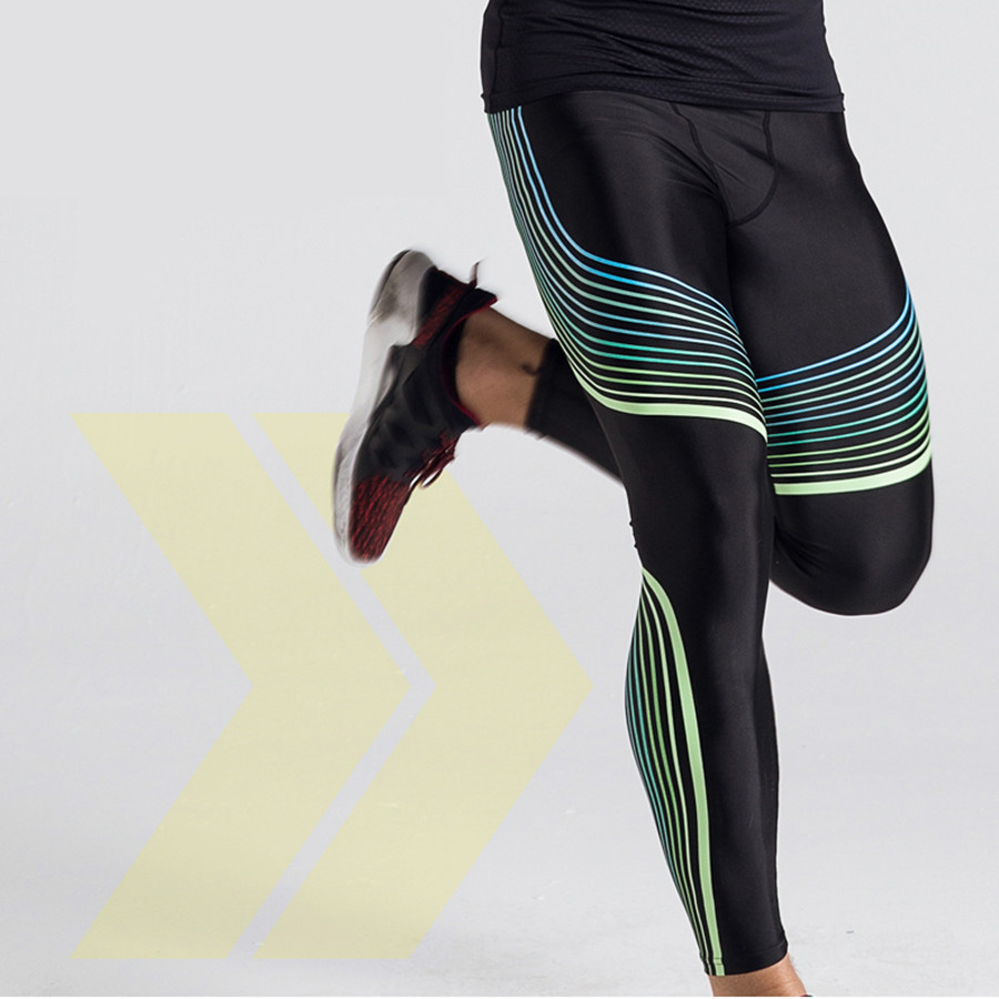 New Fashion Bodybuilding Pants Men Compression Pants Men Sportswear Tights Fitness Crossfit Leggings Lycra MMA Rashguard Joggers