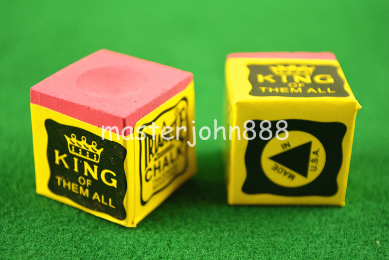 Sports & Entertainment ... Entertainment ... 32615244040 ... 2 ... 2pcs OF TRIANGLE MASTER Pool Billiards Snooker Chalk Cubes Chalk Green/Blue/Red Free Shipping ...