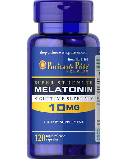 Super Strength Melatonin 10mg*120 pcs
