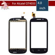 10pcs/lot For Alcatel One Touch POP C3 Dual OT-4033E OT4033 4033D 4033X Touch Screen Digitizer Sensor Outer Glass Lens Panel