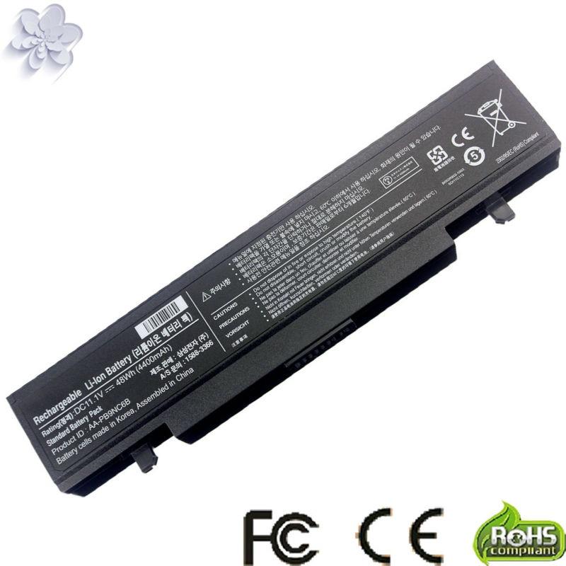 AA-PB9NC6B AA-PB9NS6B AA-PB9MC6B batería del ordenador portátil para Samsung RV510 RV520 Q430 NP350V5C NP300E5E NP350E5C NP355E5C NP355E7C NP365E